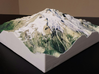 Glacier Peak, WA, USA, 1:25000 3d printed Actual photo of model, viewed from the Southeast; by D. Stockton
