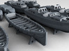 1/600 WW2 RN Boat Set 3 with Mounts 3d printed 3d render showing product detail