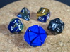 The D20 of Fail 3d printed The size of the D20 compared to regular dice. Of which I'm assuming are regular sized!