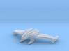 Romulan Winged Defender (Wings Down) 1/15000 3d printed