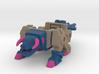 Horri-Bull, Full Color Sandstone Version 3d printed