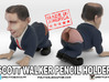Scott Walker Pencil holder - small 3d printed