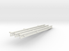 Katyusha Short Left Rails 1:35 scale 3d printed