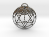 Second Pentacle of Mars 3d printed