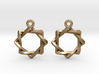 Penrose Melchizedek Symbol Earrings 3d printed
