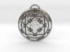 Third Pentacle of the Sun 3d printed