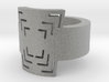 Dashed Ring - Ring Size 8.5 3d printed