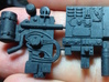 Two greeblies from Centurion for Y-Wing 3d printed
