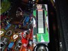 Plain Style VU Barmeter Pinball Case 3d printed Installed on a Metallica machine featuring Ms. Danica Patrick