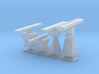 1/72 scale Radar Set 3d printed