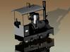 Hohenzollern Works (Serial No. 447) Scale TT 3d printed