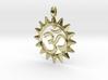 OM Symbol Jewelry Pendant 3d printed