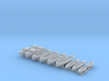 1/350 WW2 RN Boat Set 1 with Mounts 3d printed 1/350 Royal Navy WW2  Boat Set 1 with Mounts