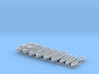 1/500 WW2 RN Boat Set 1 without Mounts 3d printed 1/500 Royal Navy WW2 Boat Set 1