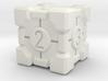 Companion Cube Dice 3d printed
