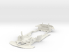 S07-ST2 Chassis for Scalextric Aston GT3 STD/STD 3d printed
