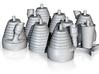 H-1 Engines (1:48 Saturn I & IB) SA-1 thru SA-202 3d printed