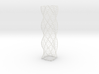 Curved Wire Spiral Square Shape L 3d printed