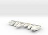 1/72 scale Bridge Front Platforms 3d printed
