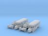 SET Stadtomnibusse (N 1:160) 3d printed