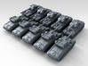 1/285 Scale Swedish 42-57 Alt A.2 Tank X10 3d printed 3D render showing product detail