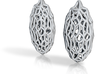 Pillow earrings 3d printed