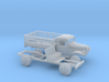 1/87 1945-50 Dodge Power Wagon Stake Bed 3d printed