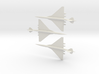 1/700 BOEING 2707-300 SUPERSONIC TRANSPORT 3 PACK 3d printed