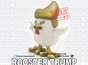 China's Donald Trump Rooster 3d printed