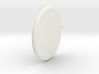 """Jupiter Symbol Circle Pendant - 1"""" 3d printed"""