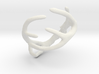 Antler Ring Size 12 - 22mm ID 3d printed
