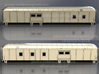 D&RGW RPO Baggage Car NScale 3d printed Sides Layouts
