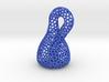 Klein bottle irregular holes weave 3d printed