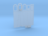 N-scale 1/160 Millie's Cafe Parts Combo 3d printed