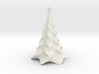 Non-scale Tabletop Christmas Tree 3d printed