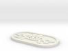 fsm keychains 3d printed
