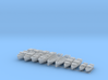 1/144 WW2 RN Boat Set 3 without Mounts 3d printed 1/144 WW2 RN Boat Set 3 without Mounts