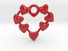 Valentine's hearties (Wall hanging) 3d printed