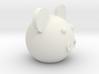 Round ball pig 3d printed