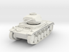 PV162 Pzkw IIF Light Tank (1/48) 3d printed