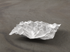 4''/10cm High Tatras, Poland/Slovakia, WSF 3d printed Radiance rendering of model, viewed from Poland, looking SSW