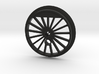 XXL Flanged Driver with Traction Tire Groove 3d printed