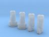 x4 (1.3mm) 3.65mm OD Rotary Kill Keys V2/V3 short 3d printed