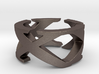 XXX - Roman Numerals Ring - Size 8 3d printed