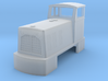 OO9 Ruston Diesel Locomotive 3d printed