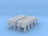 1/306 Scale DC Racks 3d printed