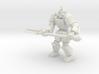Gargoyle pose 4 3d printed