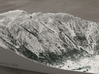Jackson Hole in Winter, Wyoming, 1:25000 3d printed