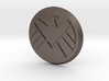 Agents Of Shield Button 3d printed