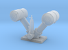 1/72 IJN Y Depth Charge Launchers (Loaded) 3d printed